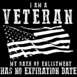 Veteran Oath Tees - Military T Shirts For Men Veterans Wholesale - MSC Distributors