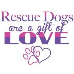 Rescue Dogs T Shirts - a1163h