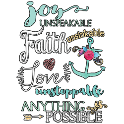 Christian T-Shirts Wholesale Joy T-Shirts - MSC Distributors