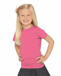 T Shirts Wholesale Bulk Supplier - Blank - LAT - Girls Fine Jersey Tee - 2616