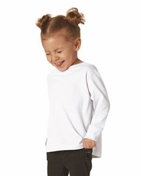 T Shirts Wholesale Bulk Supplier - Blank - Rabbit Skins - Toddler Long Sleeve Fine Jersey Tee - 3302
