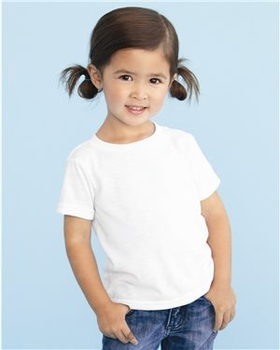 T Shirts Wholesale Bulk Supplier - Blank - SubliVie - Toddler Polyester Sublimation Tee - 1310