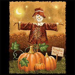 Christmas Picks T Shirts Wholesale Distributor - USA - Pumpkin Scarecrow Best Fall Halloween Christmas Wholesaler - 22073HD2