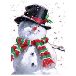 Christmas Picks T Shirts Wholesale Distributors Winter - 20883D2 Snowman