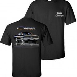 Wholesale Men's Women's American Muscle Car T Shirts Bulk Suppliers - TDC-160-Charger