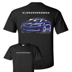 Wholesale Men's Women's American Muscle Car T Shirts Bulk Suppliers - TDC-167-09-Camaro-Concept