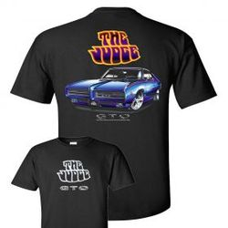 Wholesale Men's Women's American Muscle Car T Shirts Bulk Suppliers - TDC_174N-69-Judge-Adult