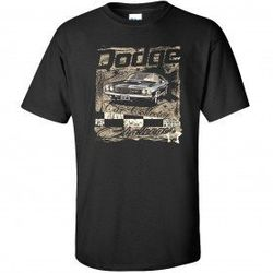 Wholesale Men's Women's American Muscle Car T Shirts Bulk Suppliers - TDC_184-Challenger