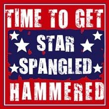 Patriotic 4th of July, T Shirts Tees Bulk Suppliers - Time to Get Star Spangled 21524