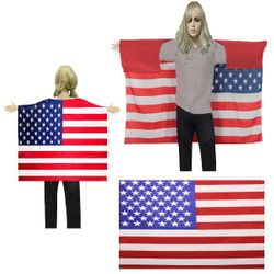 Top Website Wholesale Best Products For Resale Online Quality USA - BESE 251 WEARABLE USA FLAG