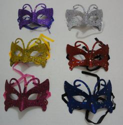 Party Toys Wholesale Masks Suppliers - Party Supplies - Kids Toys Games - TY419. Masquerade Mask--Glitter Butterfly