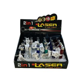 Party Toys Wholesale 2 in 1 Laser (2dozen display box) - TY56