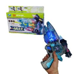 Party Toys Wholesale Toy Merchandise Suppliers - TY840177. 11 Galaxy Eagle Sound Light Toy Gun
