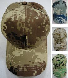 Wholesale Brand Name Clothing Apparel In Bulk Suppliers Boutiques - Men's Blank Hats Wholesale - HT766. Digital Camo Ball Cap Assortment