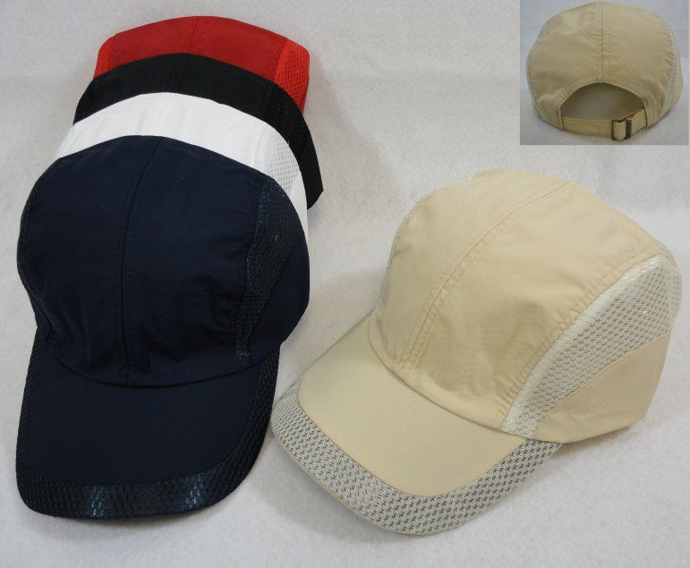 Blank Hats Wholesale - HT791. Nylon and Mesh Ball Cap  Solid Colors  9c07c2bb81a