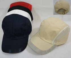 Wholesale Brand Name Clothing Apparel In Bulk Suppliers Boutiques - Men's Blank Hats Wholesale - HT791. Nylon and Mesh Ball Cap [Solid Colors]