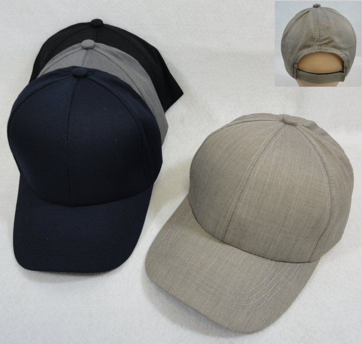 fddc550fe Blank Hats and Caps Wholesale Bulk Suppliers - HT792. Cotton Ball Cap [Assorted  Marl]