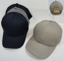 Wholesale Brand Name Clothing Apparel In Bulk Suppliers Boutiques - Men's Blank Hats and Caps Wholesale Bulk Suppliers - HT792. Cotton Ball Cap [Assorted Marl]