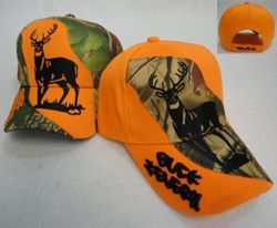 Hunting Hats Wholesale For Sale - Bulk Orange Deer Dozen Suppliers - Solid Hunter Orange Ball Cap