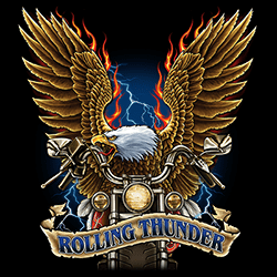 Wholesale Biker Rolling Thunder Eagle Clothing Apparel T-Shirts Suppliers Bulk Wholesalers Online - 22823D2