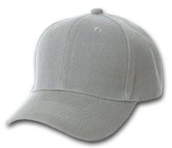 Wholesale Brand Name Clothing Apparel In Bulk Suppliers Boutiques - Men's Blank Hats Wholesale - HT193. Solid Gray Ball Cap