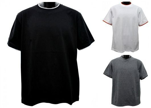 outlet online free delivery original Wholesale Men's Short Sleeve Cheap T Shirts in Bulk Blank ...