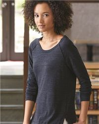 Wholesale Brand Name Clothing Apparel In Bulk Suppliers Boutiques - Alternative - Women's Eco Jersey™ Locker Room Pullover - 1919E1