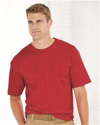 Wholesale Brand Name Clothing Apparel In Bulk Suppliers Boutiques - Bayside - USA-Made 100% Cotton Short Sleeve T-Shirt - 5040