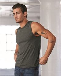 Wholesale Brand Name Clothing Apparel In Bulk Suppliers Boutiques - Bella + Canvas - Muscle Tank - 3483