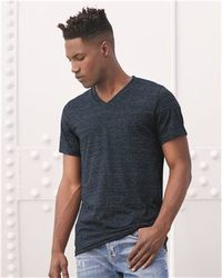 Wholesale Brand Name Clothing Apparel In Bulk Suppliers Boutiques - Bella + Canvas - Unisex Short Sleeve V-Neck Jersey Tee - 3005