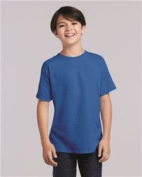 Wholesale Brand Name Clothing Apparel In Bulk Suppliers Boutiques - Gildan - Heavy Cotton Youth T-Shirt - 5000B
