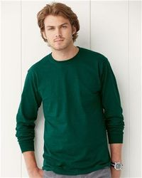 Wholesale Brand Name Clothing Apparel In Bulk Suppliers Boutiques - Jerzees - HiDENSI-T Long Sleeve T-Shirt - 363LSR