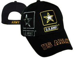 US Army Wholesale Bulk Suppliers - ECAP509b. Military Embroidered Acrylic Caps