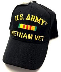 Army Vietnam Vet, Military Hats, Military Caps, Military Headwear Wholesale Bulk Suppliers Cheap Online - ECAP408b. Military Embroidered Cap