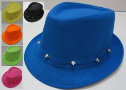 Party Toys Wholesale Fedora Hat with Studs - HT819