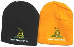 Best Selling USA Patriotic Wholesale Military Hats Bulk Suppliers - WIN982 Don't Tread on Me Beanie
