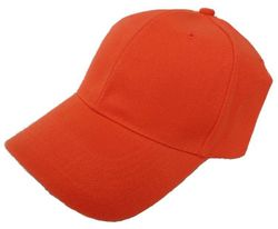 Wholesale Hunting Hat Suppliers - Boutique Apparel - HT928. Solid Hunter Orange Ball Cap