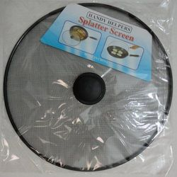 Party Toys Wholesale Home Goods Products Resale Suppliers Bulk - KT24. 11.5 Mesh Splatter Stopper