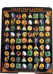 Wholesale Native American Label Pins - 72PIN - Native American. Hat Pin Display72PIN - Native American. Hat Pin Display