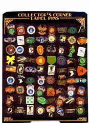 Hat Pins Military Wholesale Bulk Supplier - Display 72PIN - Military . Hat Pin Display