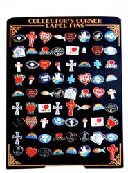 MSC Distributors : Wholesale Hat Pins - 72PIN - Religious. Hat Pin Display