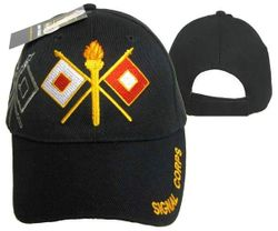 Signal Corps Wholesale Bulk Suppliers - ECAP455b. Military Embroidered Acrylic Cap