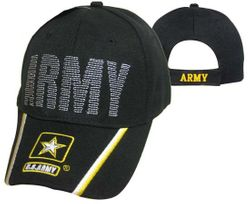 Army Wholesale Bulk Suppliers - ECAP481b. Military Embroidered Acrylic Cap