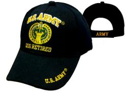 US Army Retired Wholesale Bulk Suppliers - ECAP490b. Military Embroidered Acrylic Caps