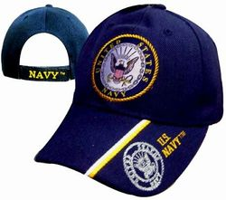 US Navy Wholesale Bulk Suppliers - ECAP498b. Military Embroidered Acrylic Caps