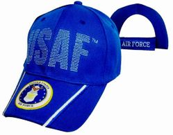 US Air Force Wholesale Bulk Suppliers - ECAP501b. Military Embroidered Acrylic Caps