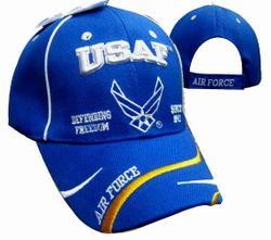 US Air Force Wholesale Bulk Suppliers - ECAP502b. Military Embroidered Acrylic Caps