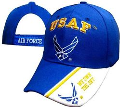 US Air Force Wholesale Bulk Suppliers - ECAP505b. Military Embroidered Acrylic Caps