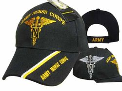 Army Nurse Corps Wholesale Bulk Suppliers - ECAP517b. Military Embroidered Acrylic Caps