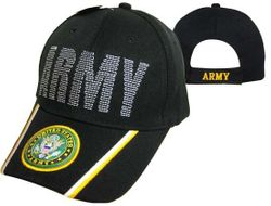 Army Wholesale Bulk Suppliers - ECAP519b. Military Embroidered Acrylic Caps
